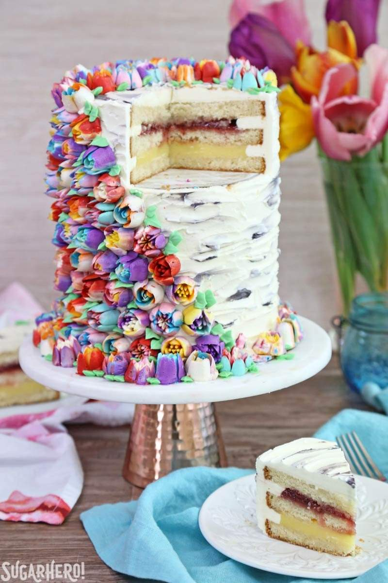 How To Make A  Layer Tall Cake