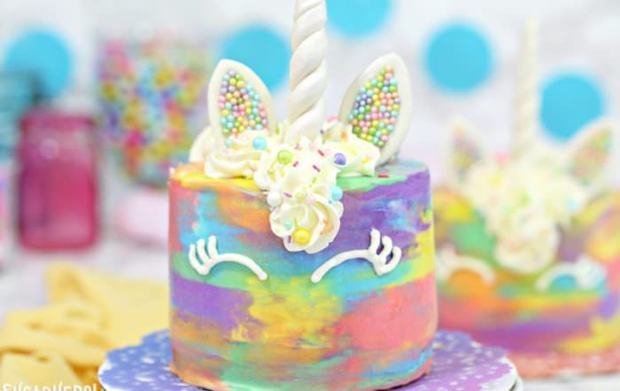 Unicorn Cakes | From SugarHero.com