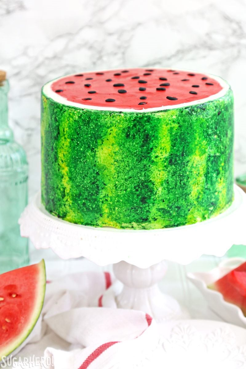 Watermelon Fruit Cake Pictures