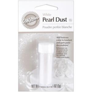 White Pearl Dust | From SugarHero.com