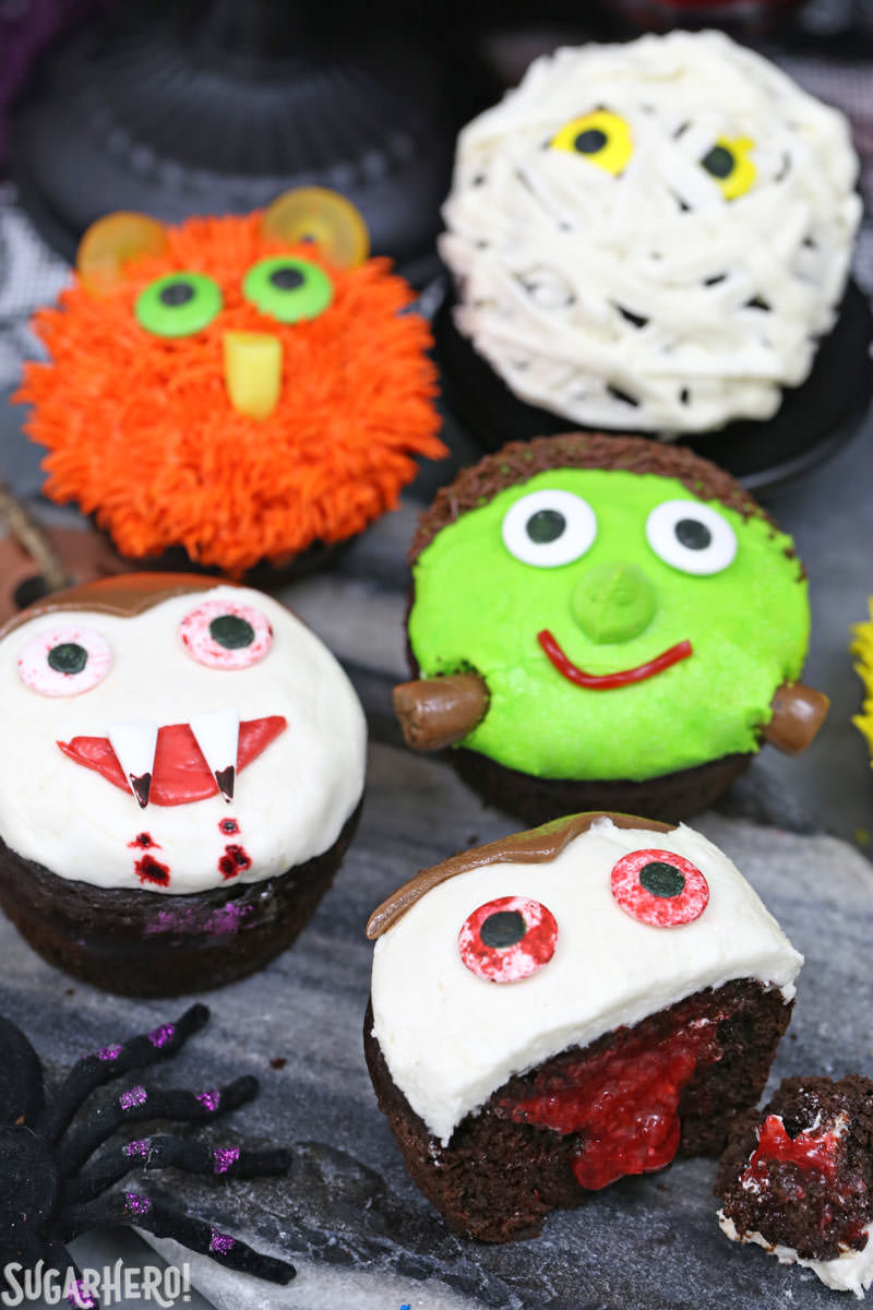 Elizabeth Labau Food Writer Recipe Developer Sugar Hero: halloween cupcakes