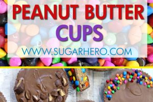 Mega Stuffed Peanut Butter Cups | From SugarHero.com