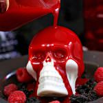 Melting Chocolate Skulls