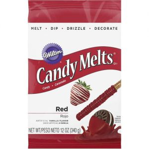 Red Candy Melts | From SugarHero.com