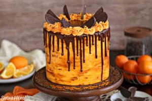 Chocolate Orange Cake | From SugarHero.com