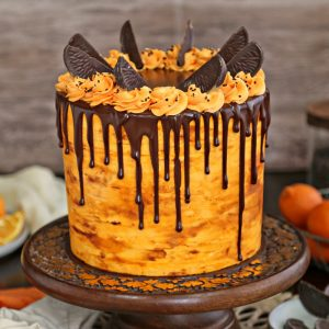 Chocolate Orange Cake | From SugarHero.com