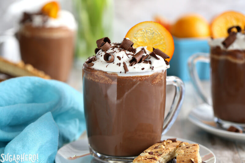 Orange Hot Chocolate - SugarHero