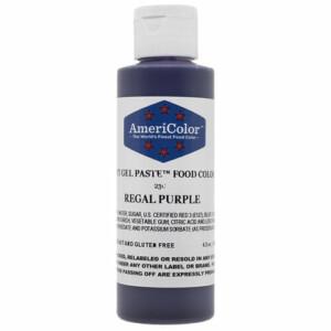 Purple Gel Food Coloring | From SugarHero.com