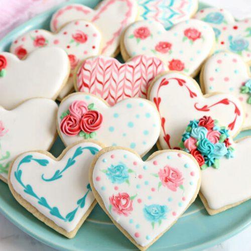 valentines day sugar cookies sugarhero