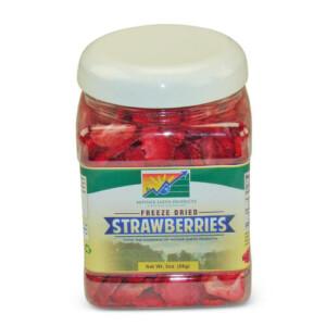 Freeze-Dried Strawberries | From SugarHero.com