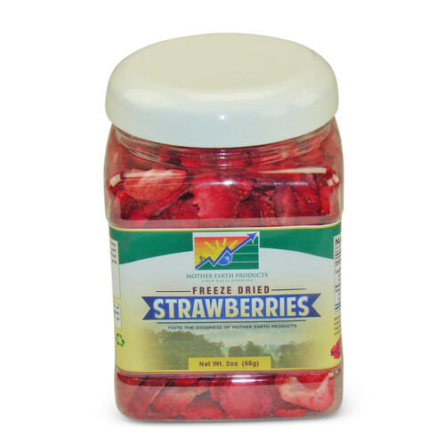 Freeze-Dried Strawberries | From SugarHero.com