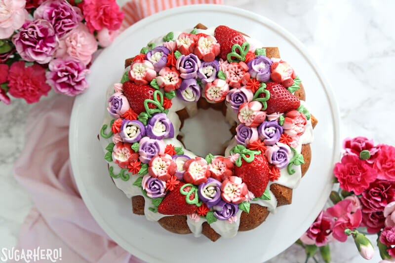 Strawberry Swirl Bundt Cake Sugarhero
