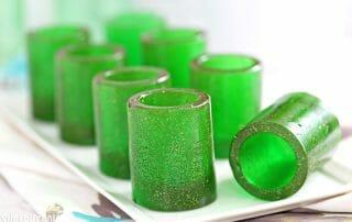 DIY Candy Shot Glasses | From SugarHero.com