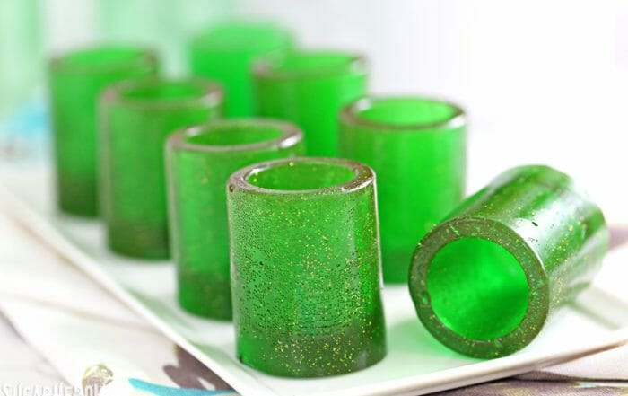 DIY Candy Shot Glasses | From SugarHero.com