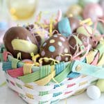 Peanut Butter Easter Eggs | From SugarHero.com