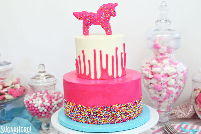 Circus Animal Layer Cake