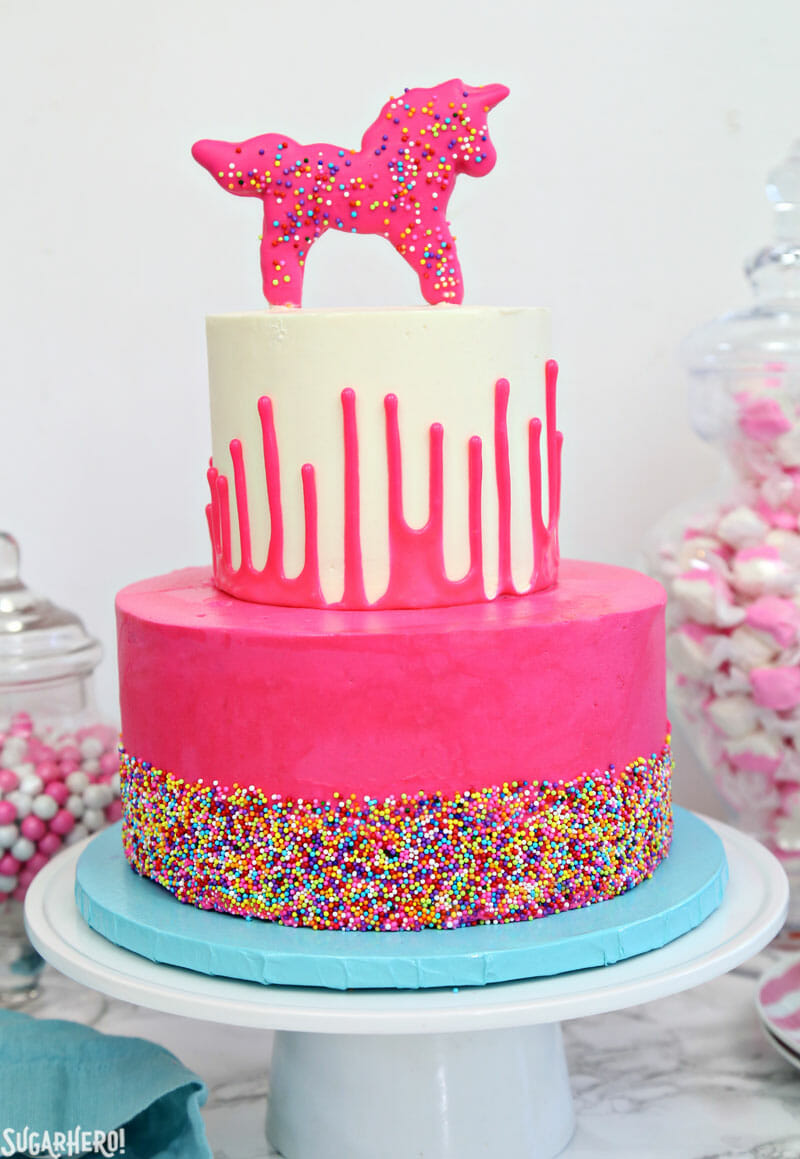 Circus Animal Layer Cake Sugarhero