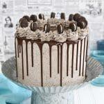 Cookies and Cream Cake | From SugarHero.com