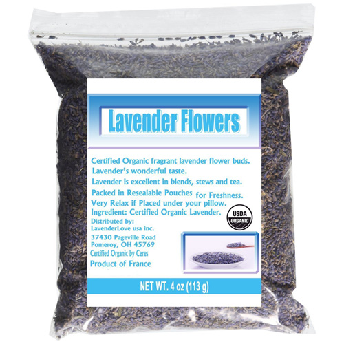 Dried Lavender | From SugarHero.com