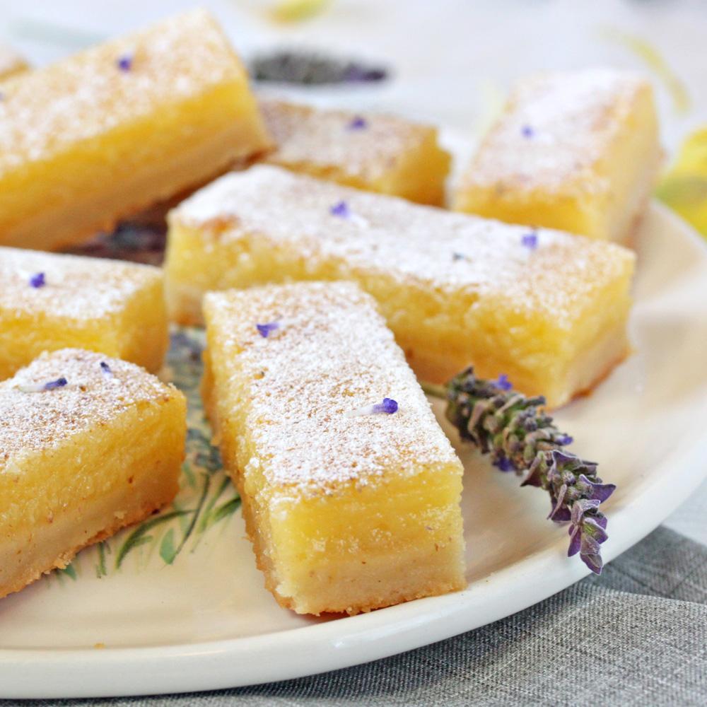 Lemon-Lavender Bars