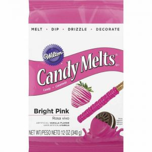 Bright Pink Candy Melts | From SugarHero.com