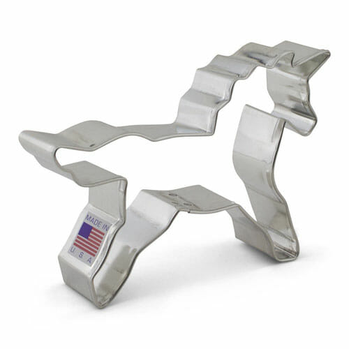 Unicorn Cookie Cutter | From SugarHero.com