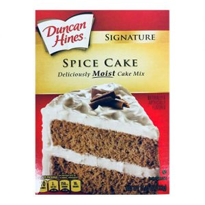 Spice Cake Mix | From SugarHero.com