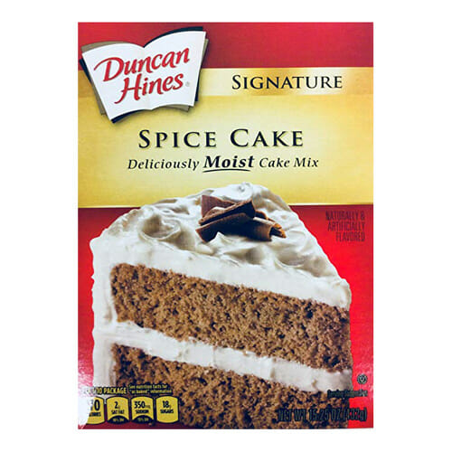 Spice Cake Mix | From SugarHero.com