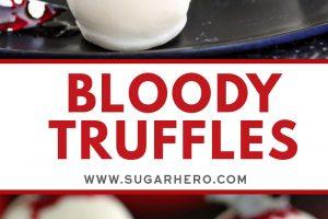Bloody Truffles | From SugarHero.com