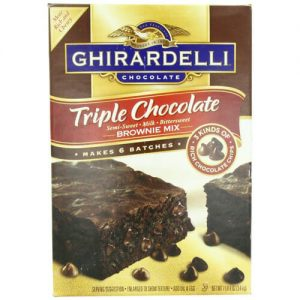 Ghirardelli Brownie Mix | From SugarHero.com