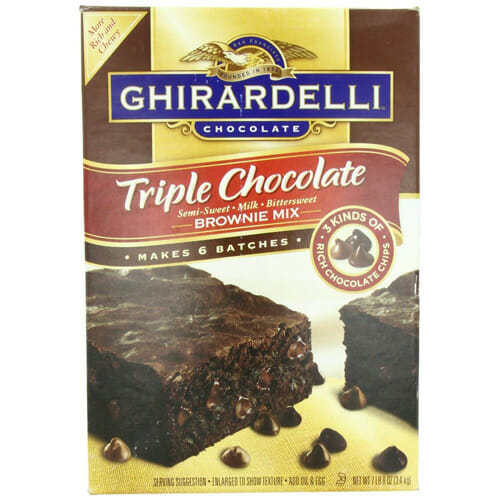 Ghirardelli Brownie Mix | From SugarHero.com