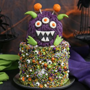 Monster Cake | From SugarHero.com