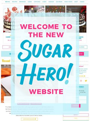 Welcome to the New SugarHero Website | From SugarHero.com