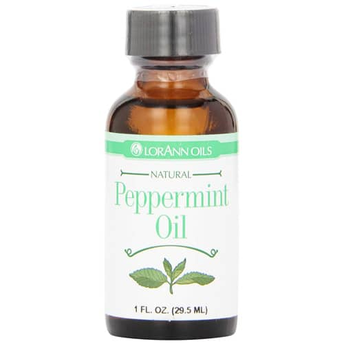 Peppermint Oil | From SugarHero.com