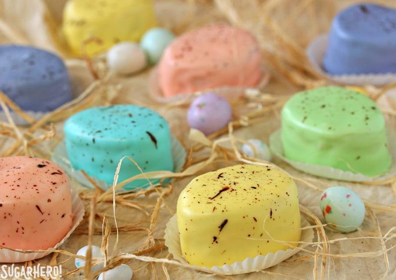 Easter Petit Fours | From SugarHero.com