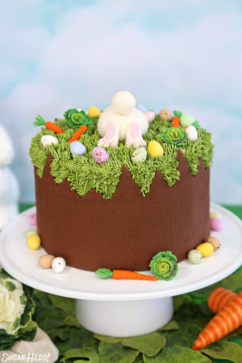 Chocolate Easter Bunny Cake Sugarhero