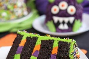 Monster Cake collage for Pinterest