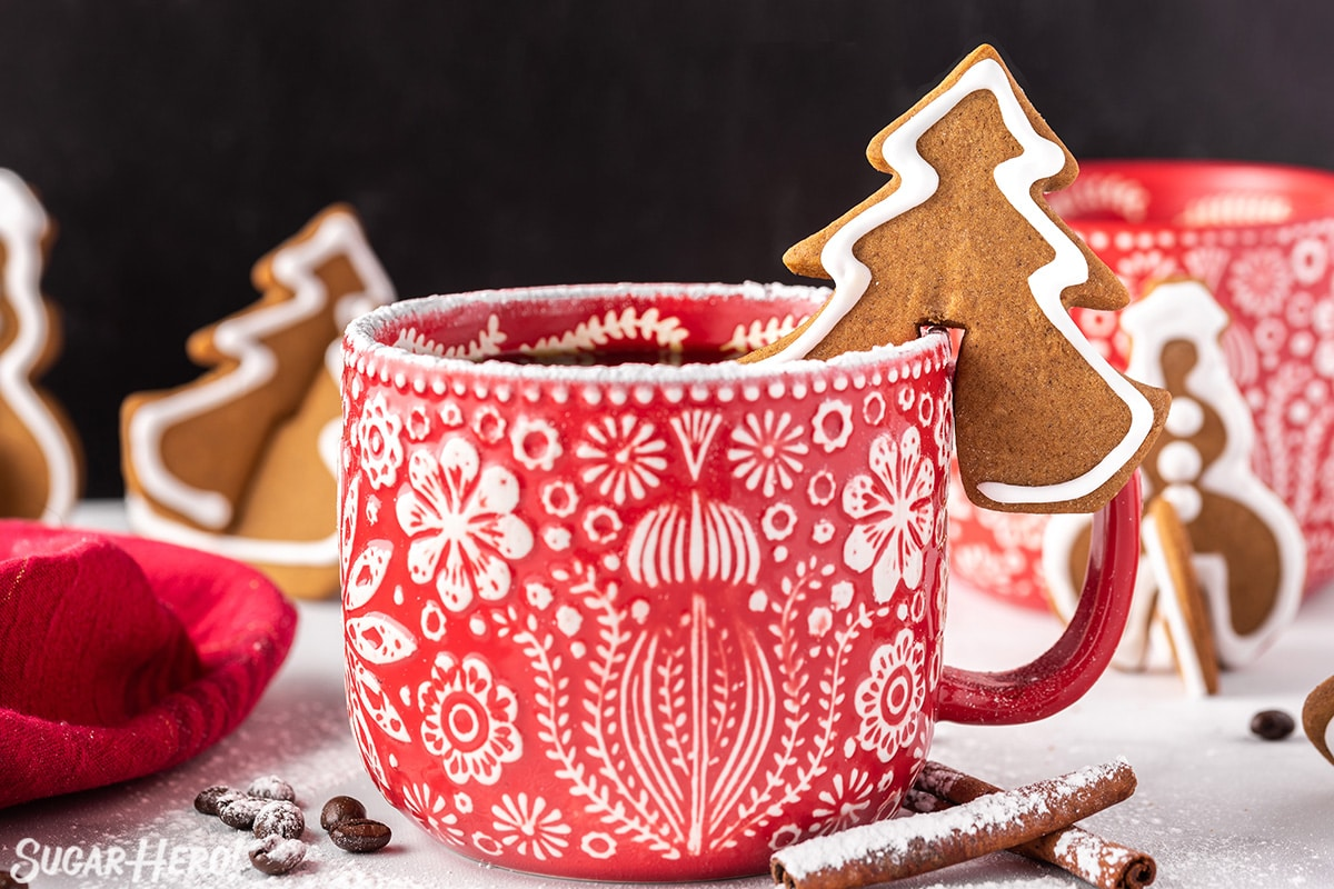 Gingerbread Cookie Mug Toppers Sugarhero