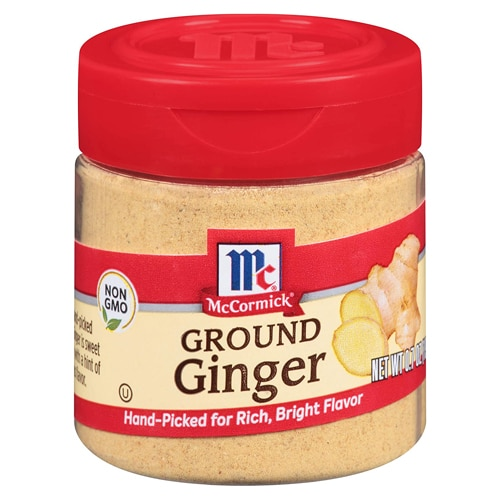 jar of ground ginger
