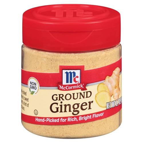 jar of ground ginger