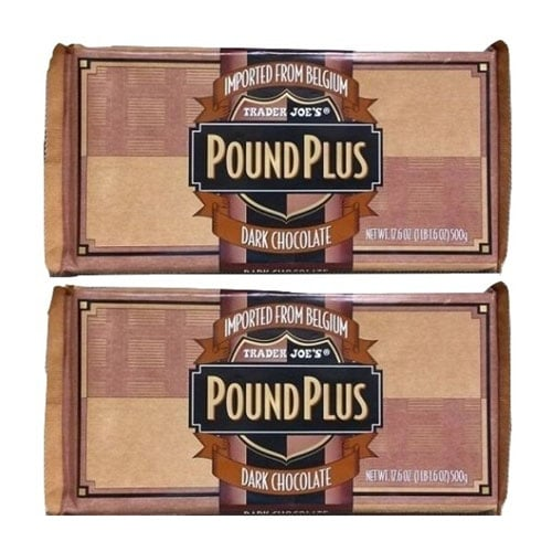 pound plus chocolate bars