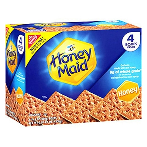box of graham crackers