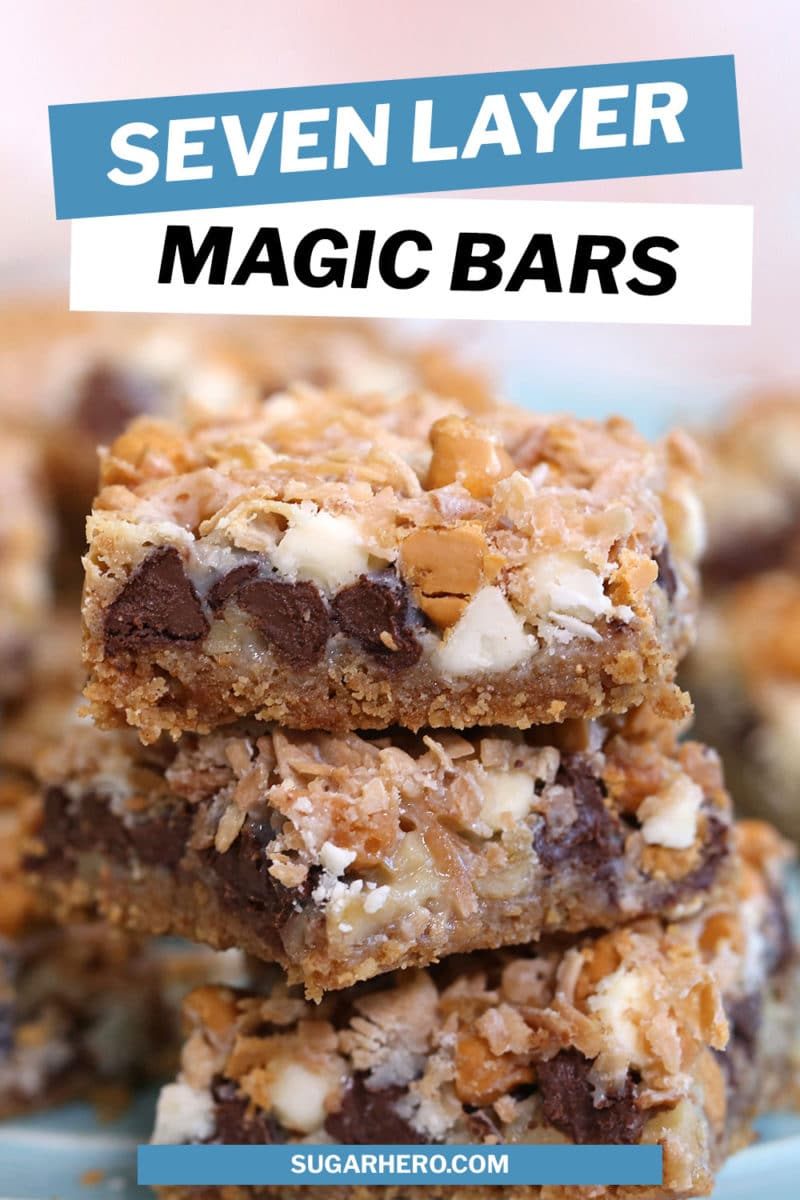Seven Layer Bars photo with text overlay
